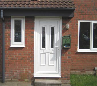 white upvc doors and windows