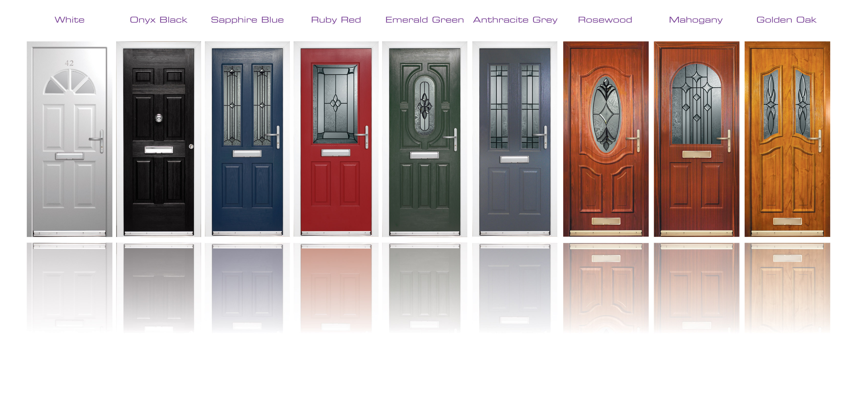 Rockdoor front door composite door installation for Replacement windows doors